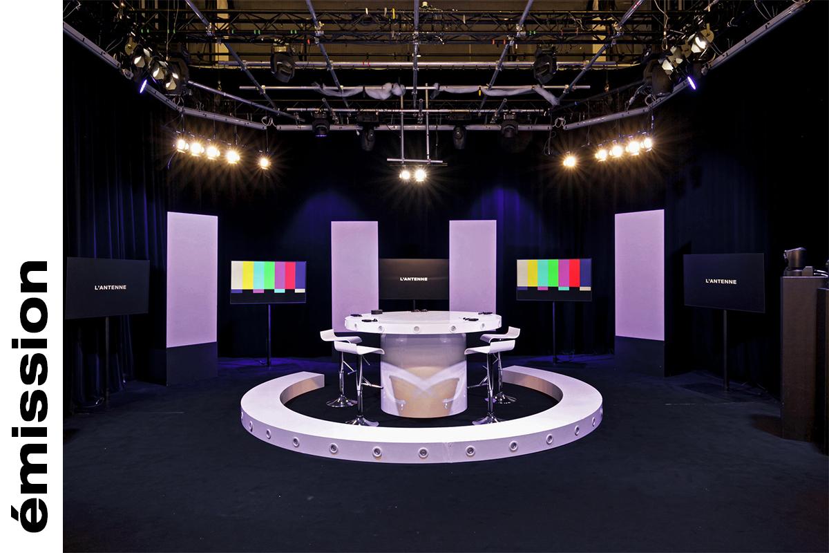 Studio de tournage paris émission débat